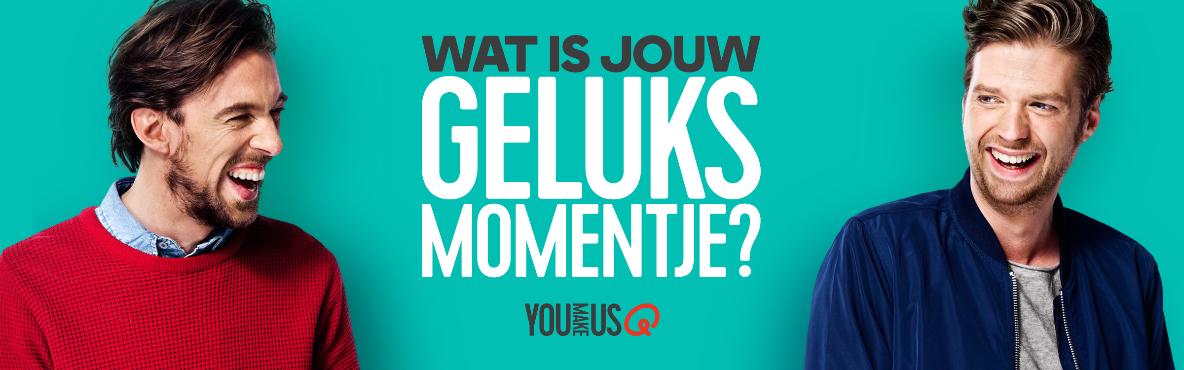 Qmusic actionheader gelukmoment