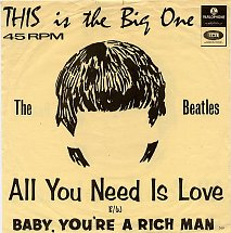 The beatles all you need is love parlophone 9 s