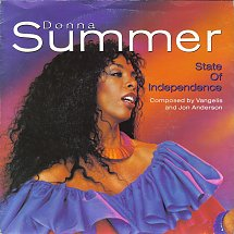 Donna summer state of independence warner bros 2 s