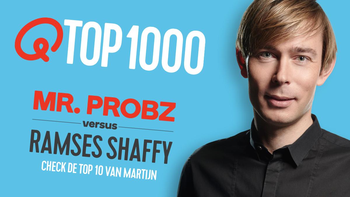 Qmusic teaser top1000 djs martijn