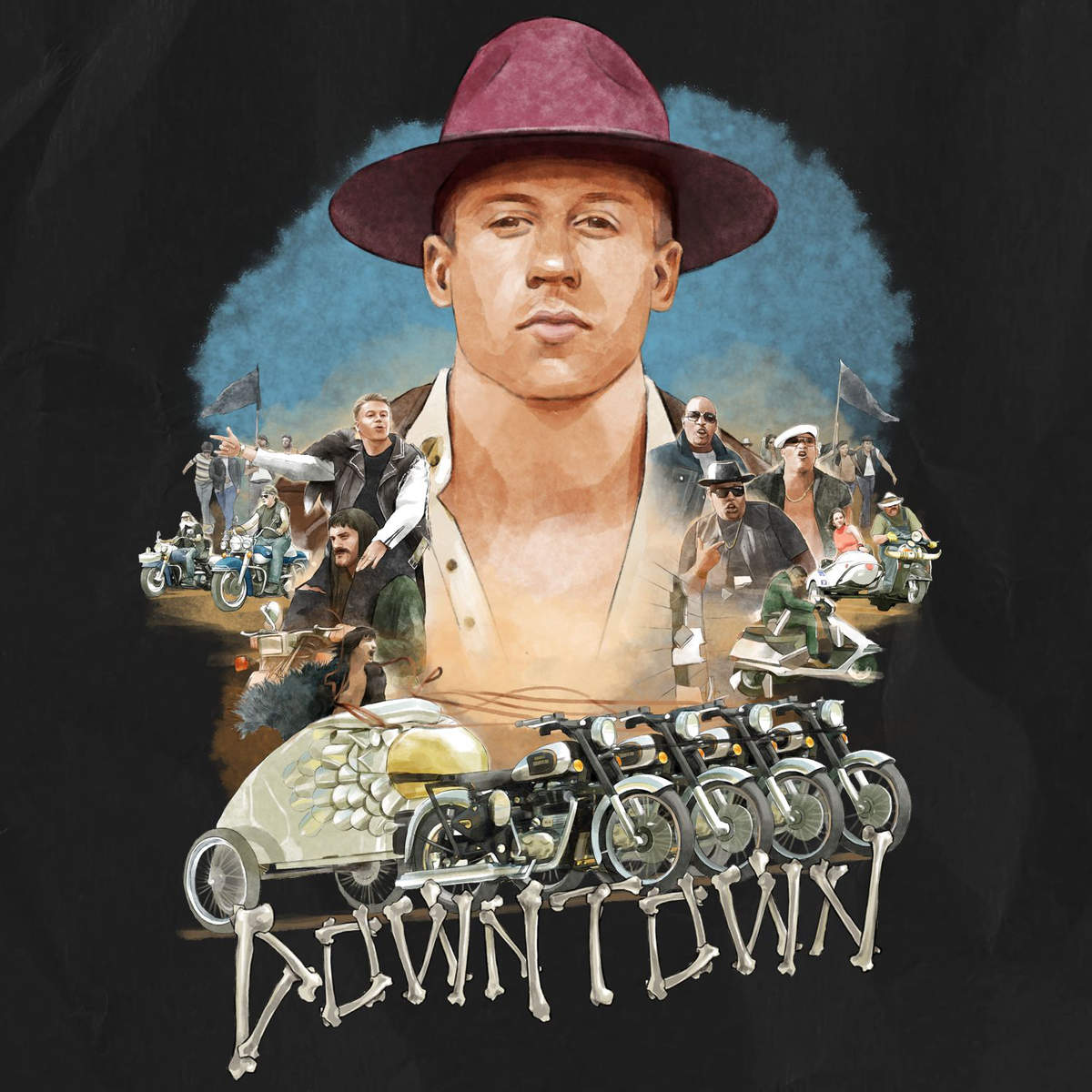 Macklemore ryan lewis downtown 2015 1200x1200
