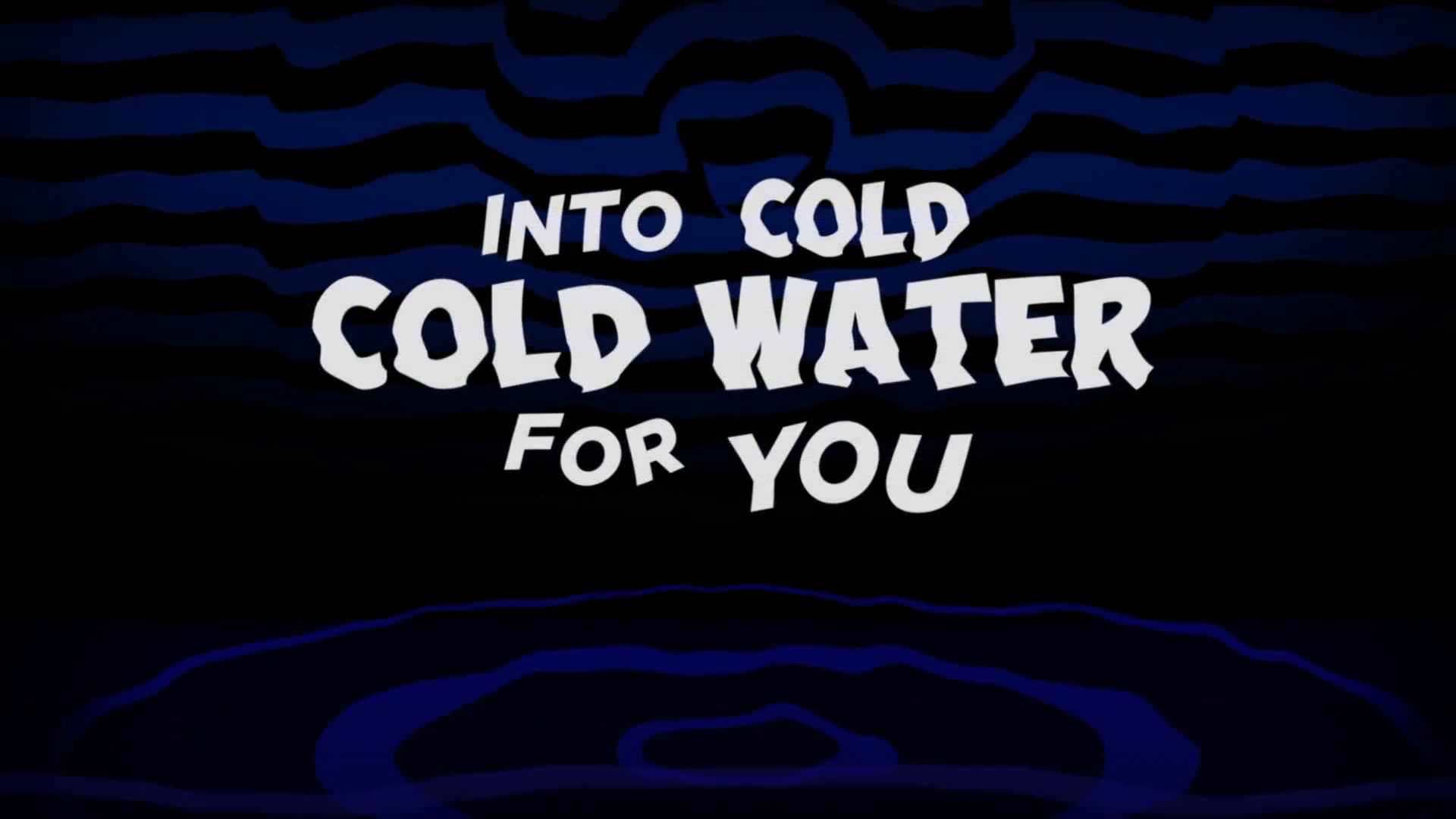 Cold cold water