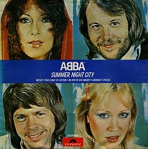 Abba summer night city polydor 3 s