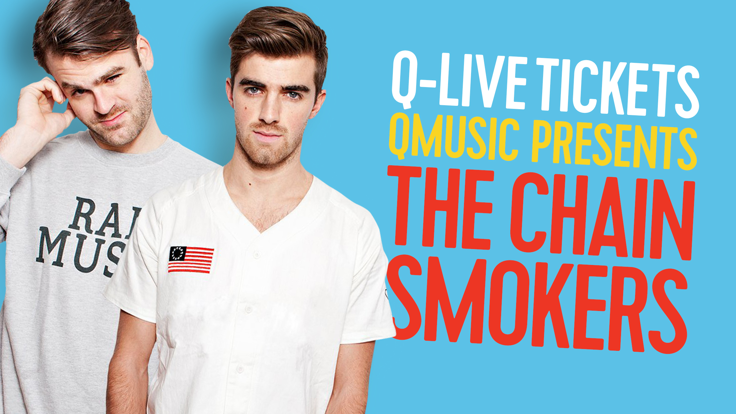 Qmusic teaser chainsmokers