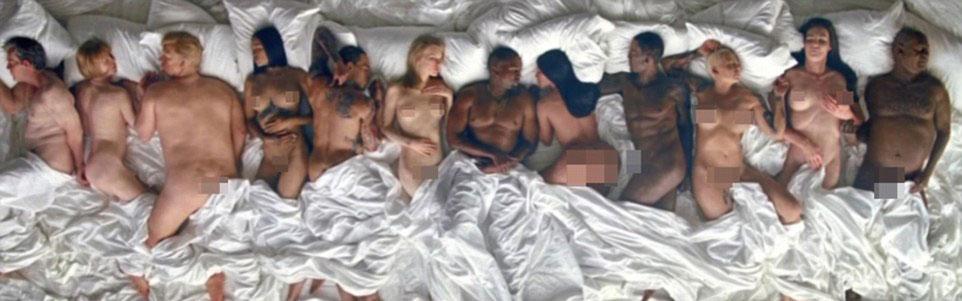 Kanye naakt