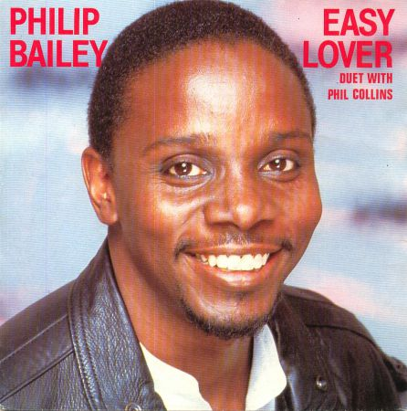 Philip bailey easy lover plus phil collins vinyl single 16656639