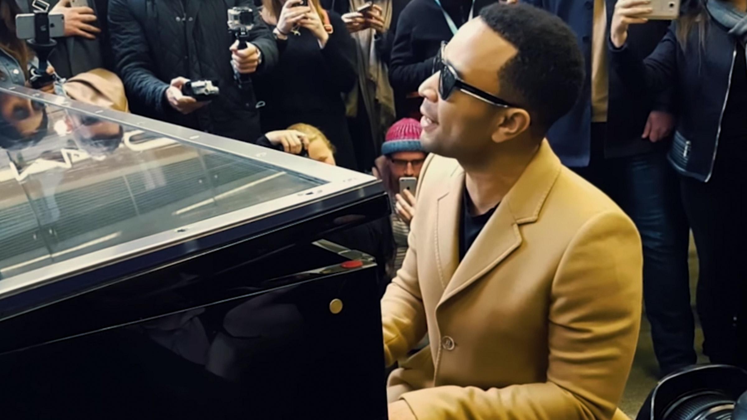 John piano teaser