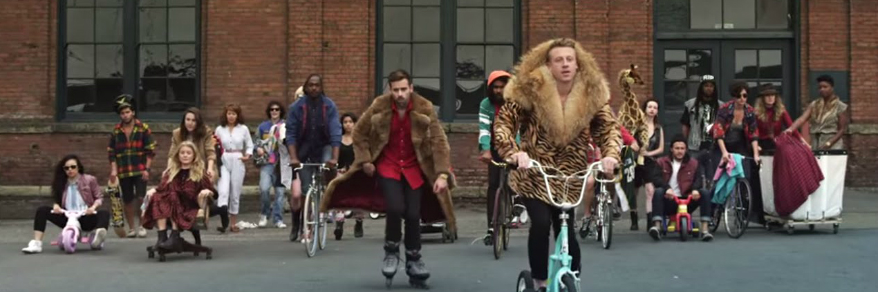 Macklemore thriftshop header