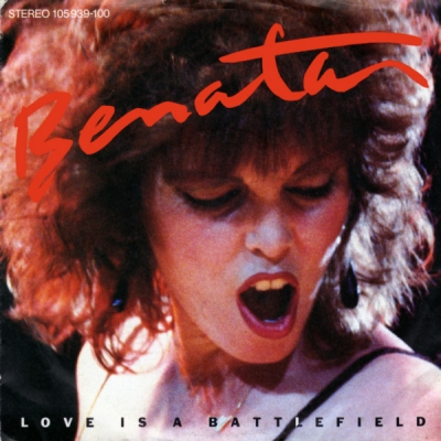 Pat benatar love is a battle field single