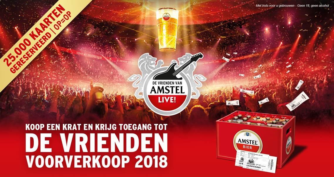 Ga Met Je Vrienden Naar De Vrienden Van Amstel Live Qmusic