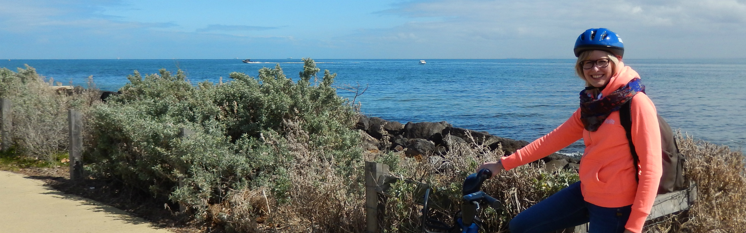 Fietsen langs de kust van melbourne header