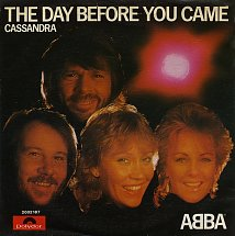 Abba the day before you came polydor 3 s