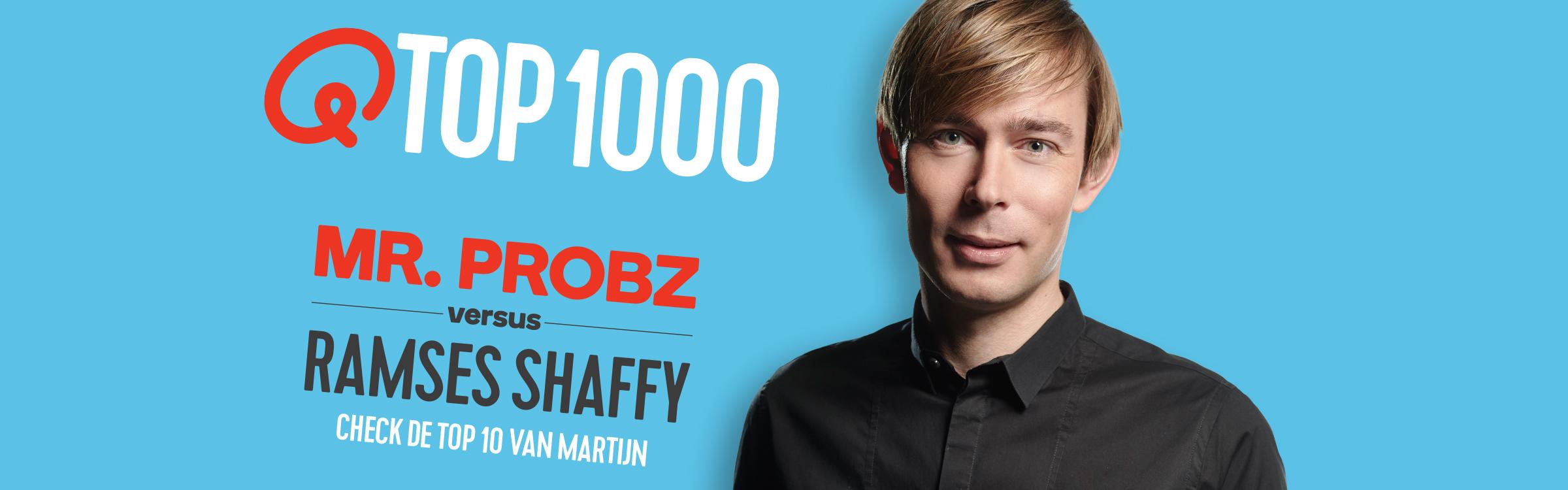 Qmusic actionheader top1000 djs martijn