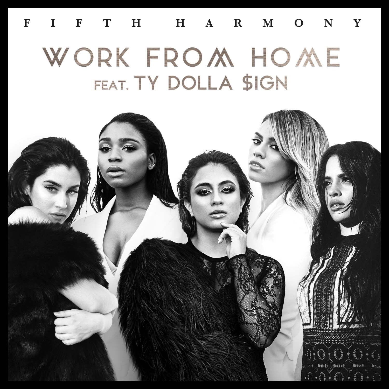 Fifth harmony work from home cover