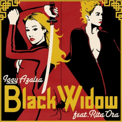 Iggy black widow cover