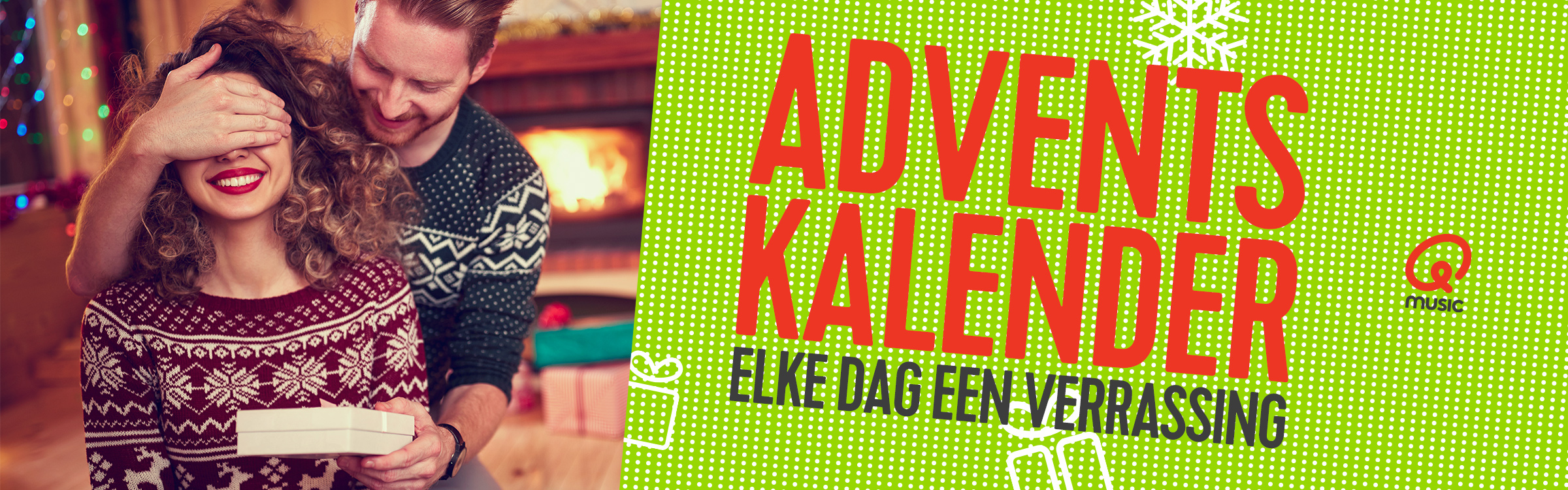Qmusic actionheader adventkalender 1