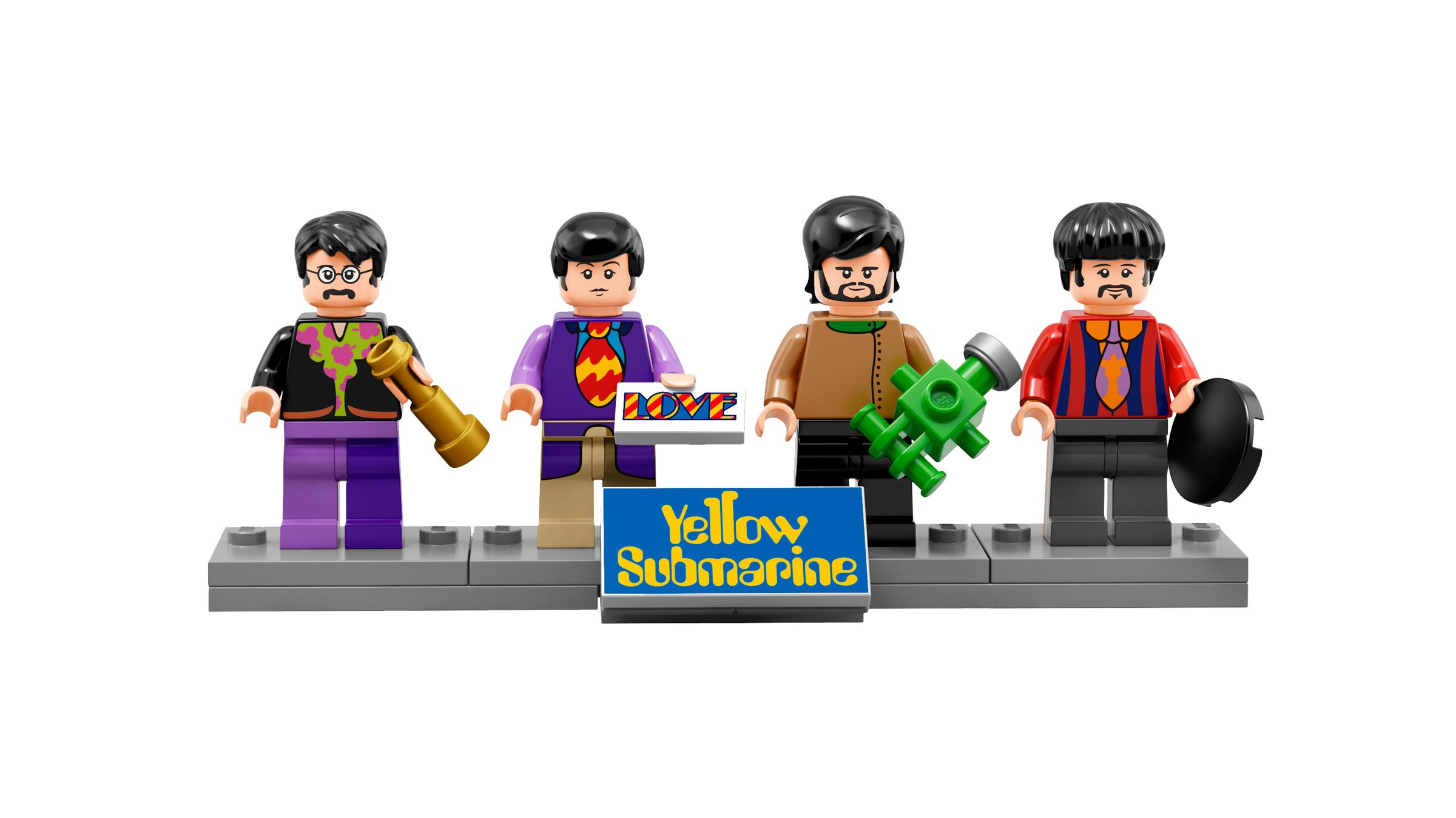 Beatles lego teaser