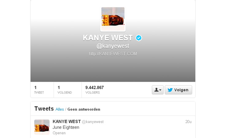 Kanyetweet