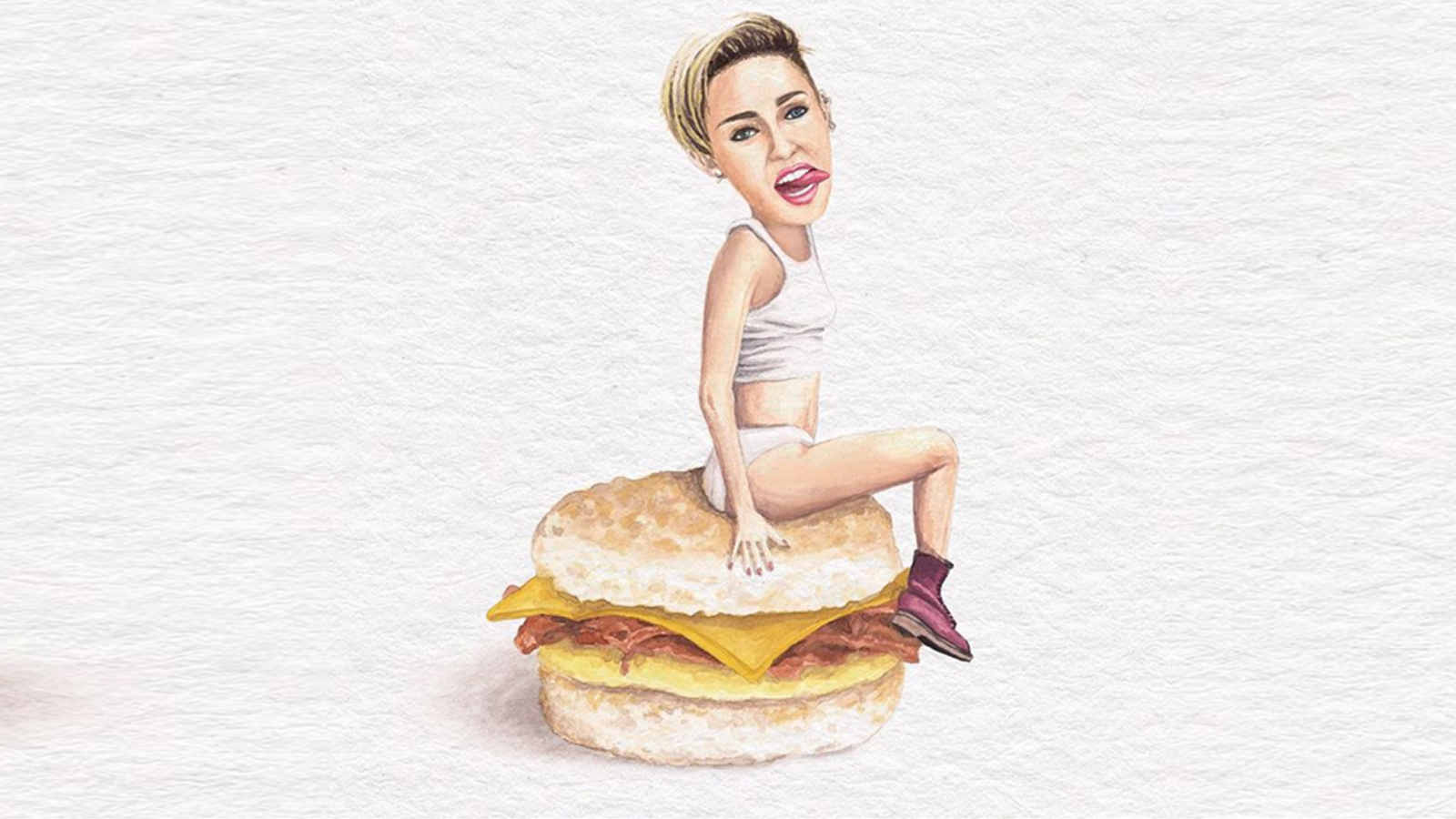 Mileycyrusopeenboterham