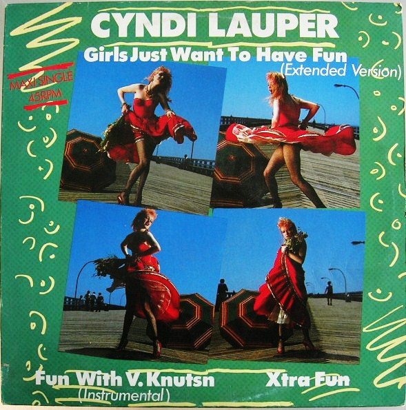 Cyndi lauper girls just want to have fun 1