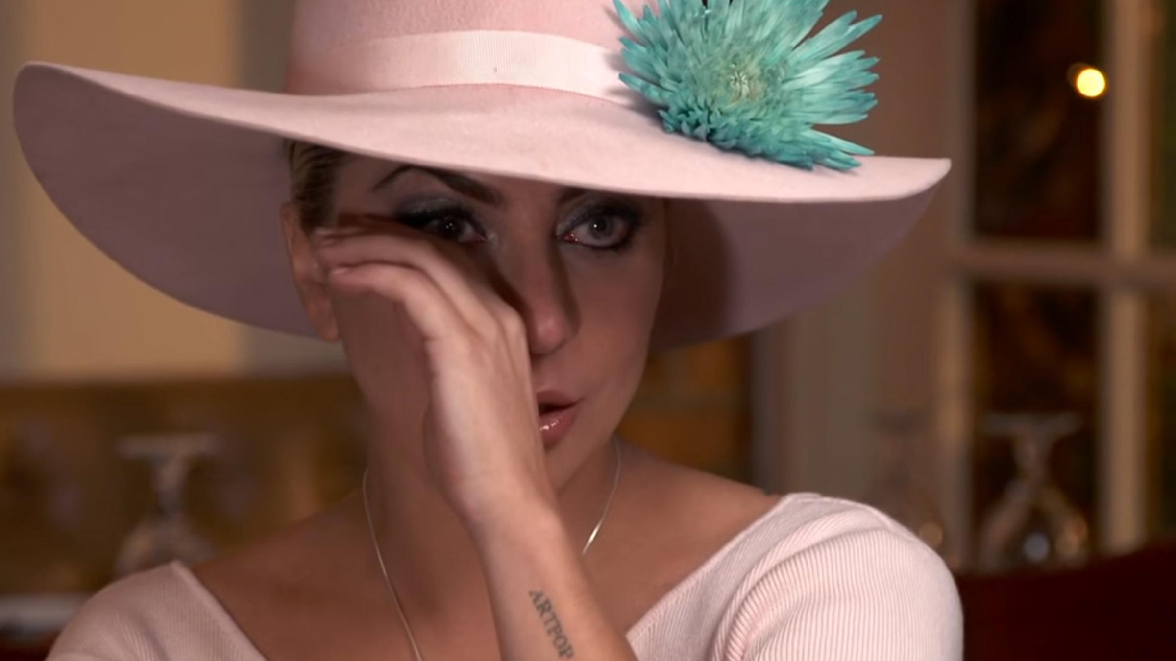 Lady gaga emotional teaser