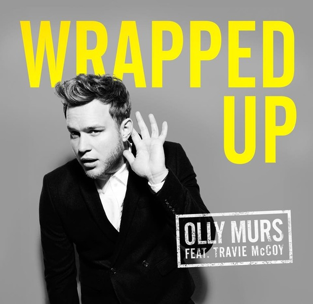 Olly murs wrapped up single artwork