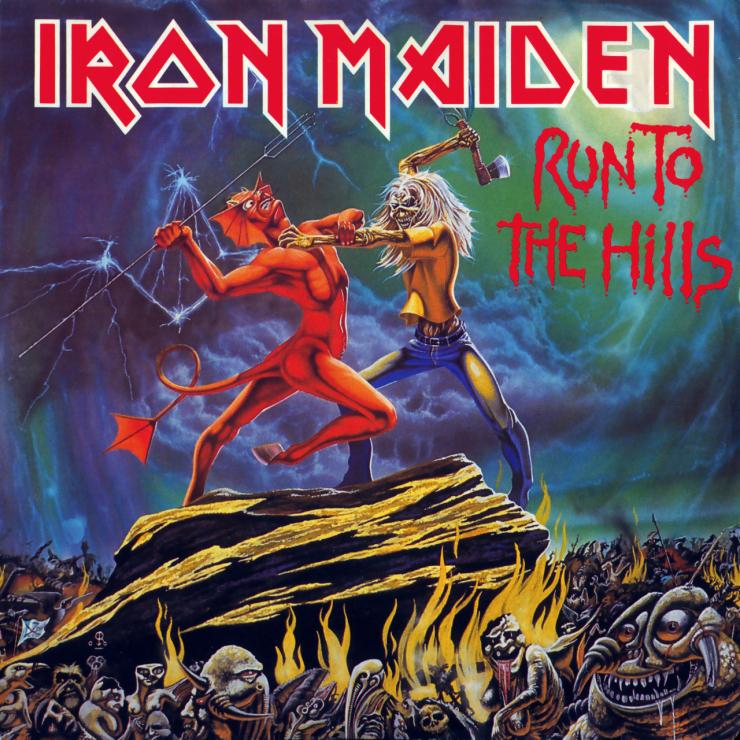 Iron maiden   run to the hills