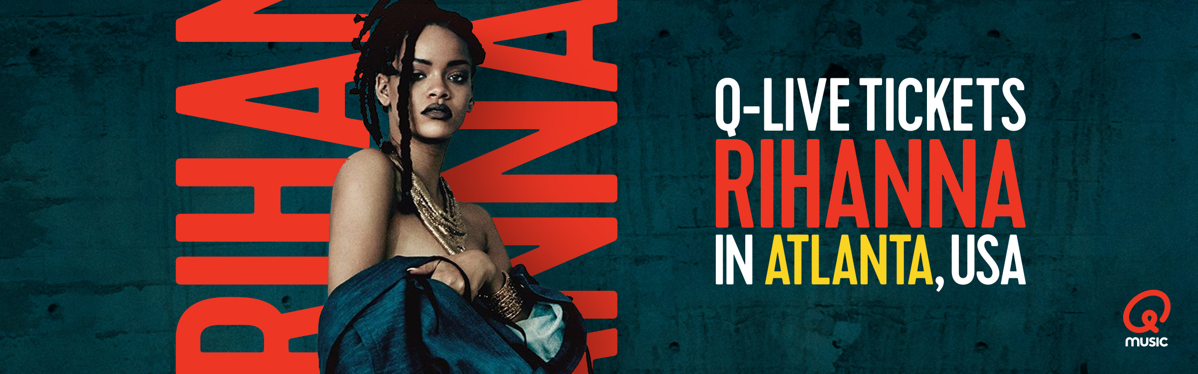 Qmusic actionheader riri