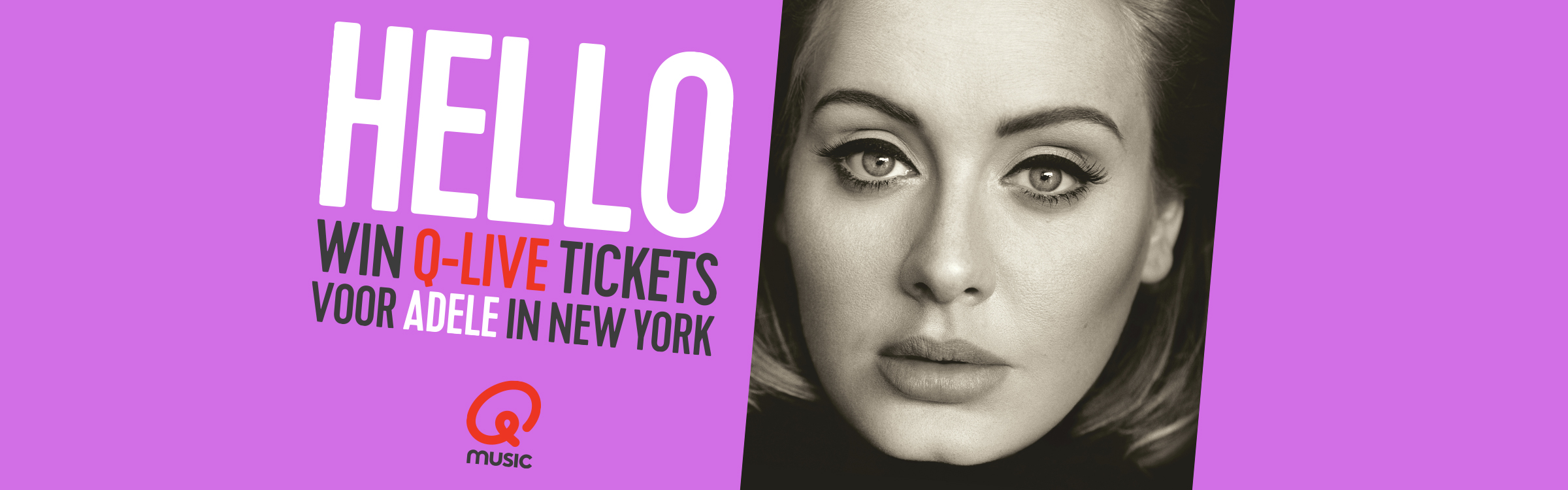 Qmusic actionheader adele