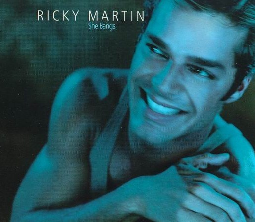 Ricky martin   she bangs   single cover
