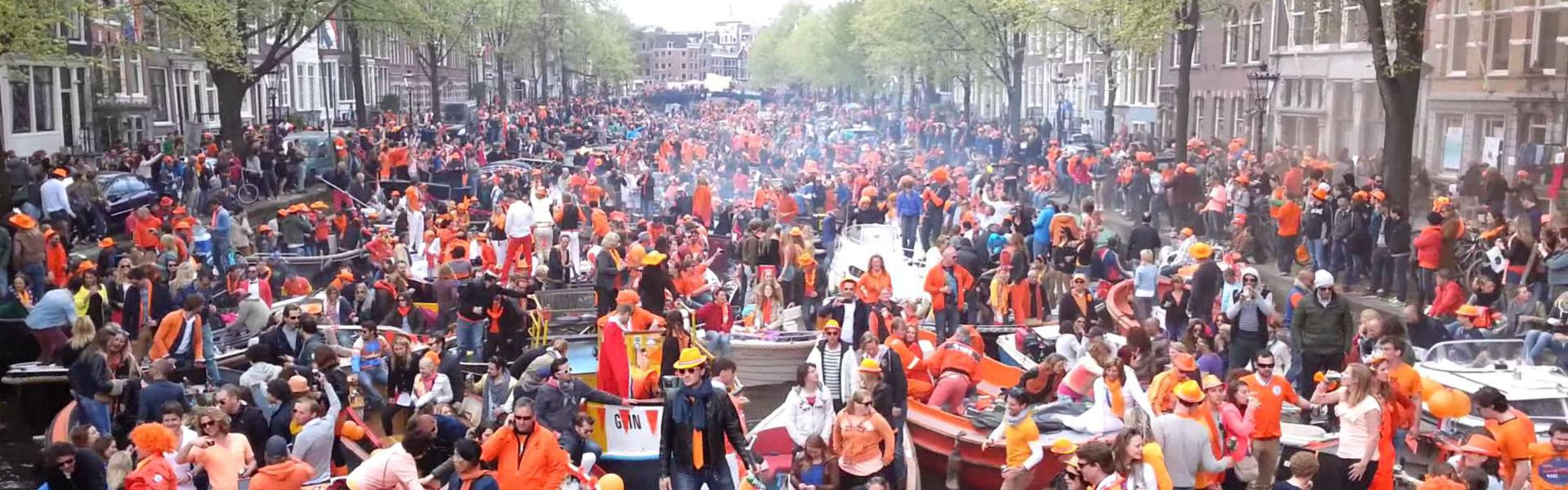 Koningsdag amsterdam header