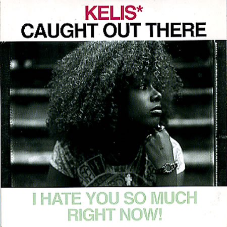 Kelis caught out there 160810