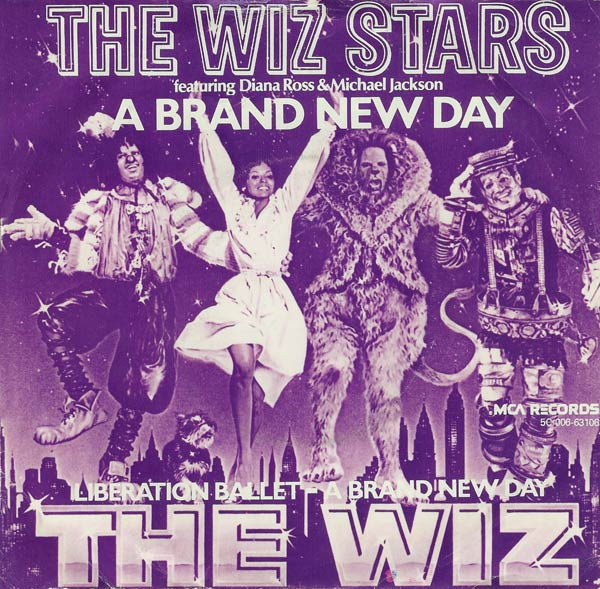 The wiz stars   a brand new day cover
