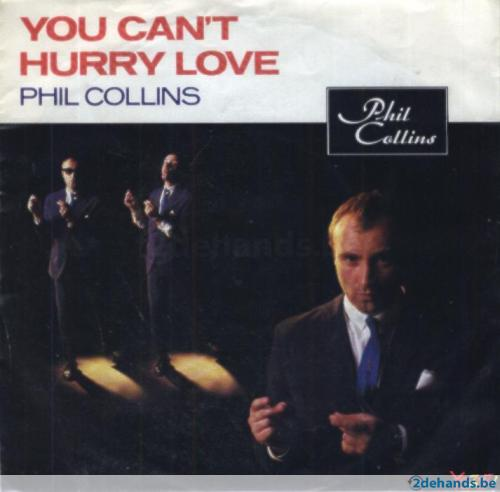 55047245 45t phil collins you can t hurry love