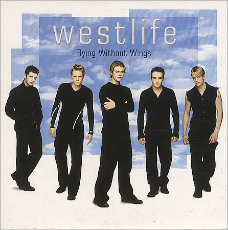 Westlife flying without wi 400398