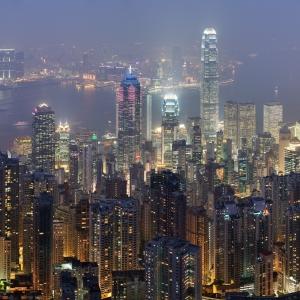 Hong kong skyline restitch   dec 2007
