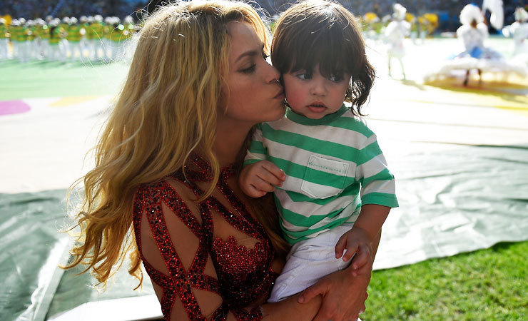 Shakira zoontje