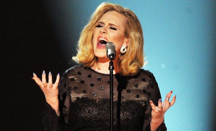 Adele grammys 2012