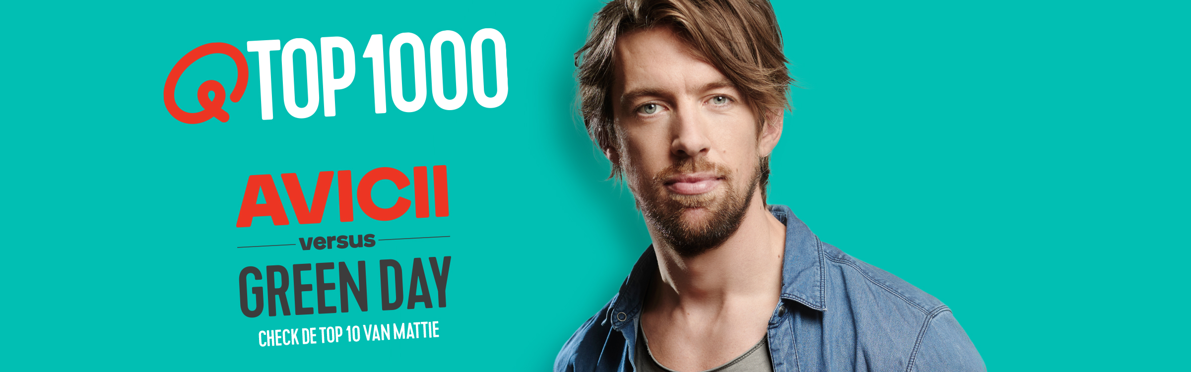 Qmusic actionheader top1000 djs mattie