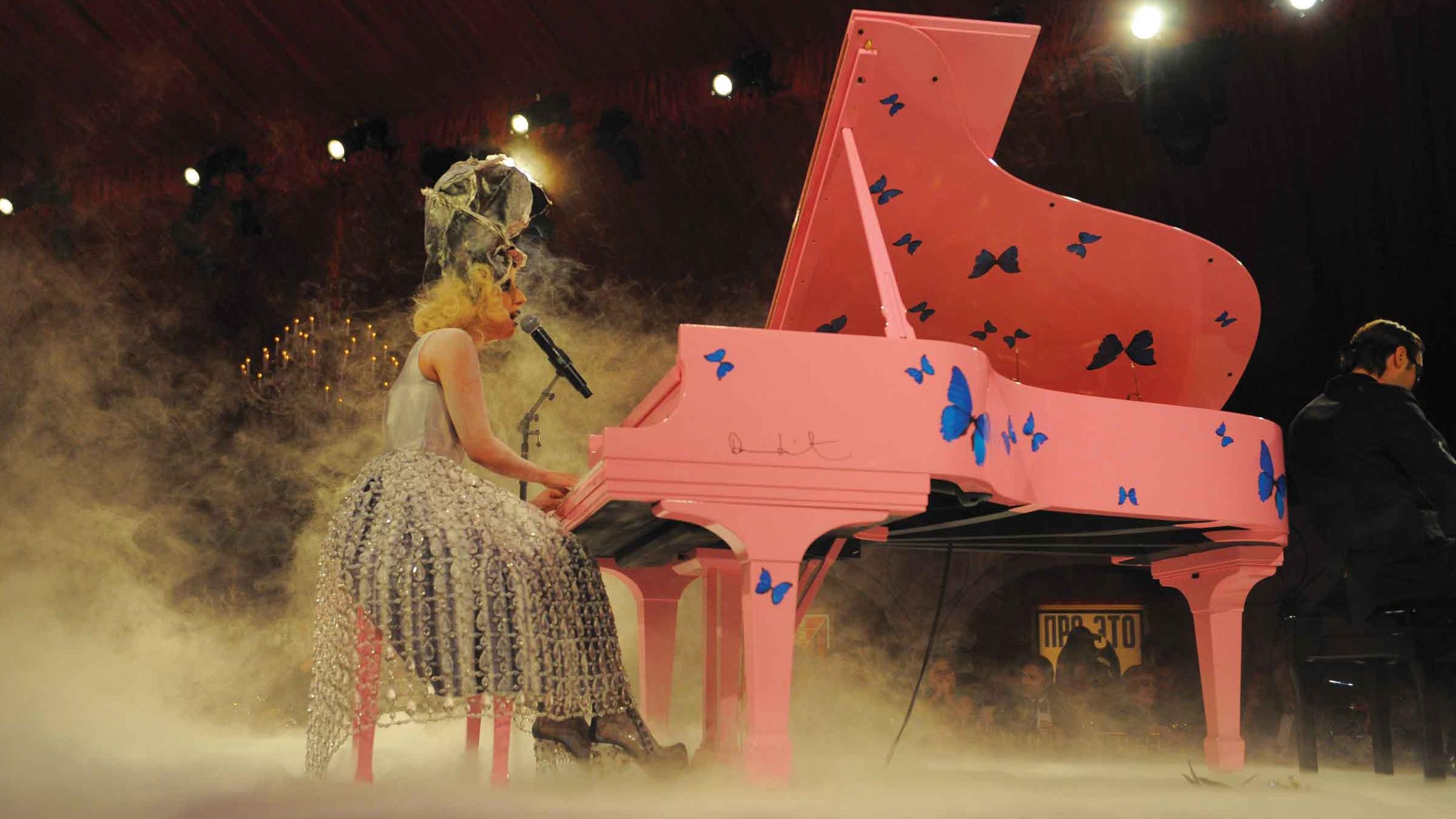 Lady gaga piano teaser