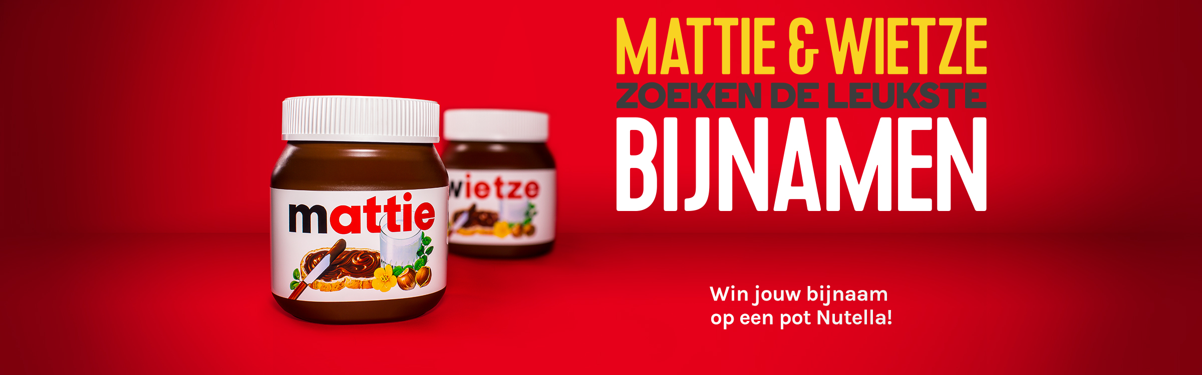 Qmusic actionheader nutella