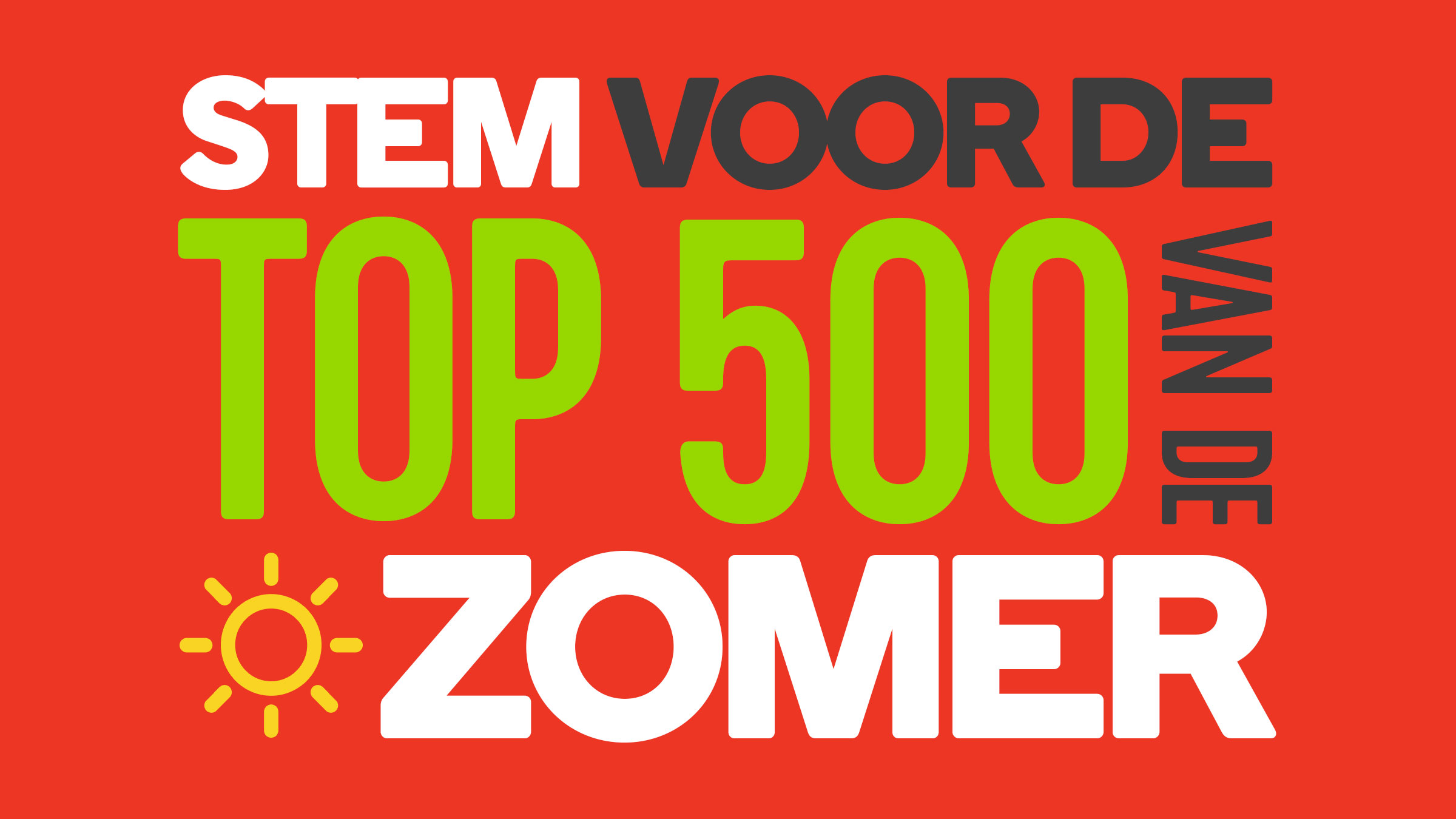 16x9 top500vdzomer stem