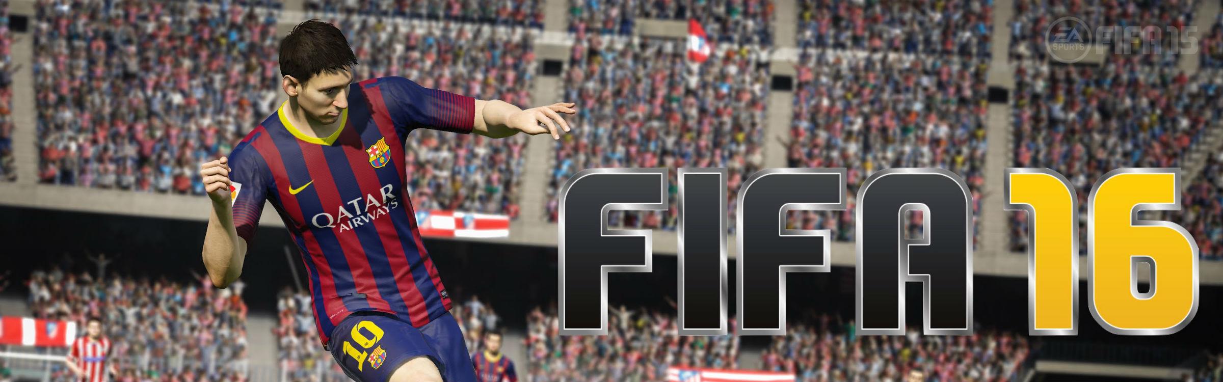 Fifa 2016 header