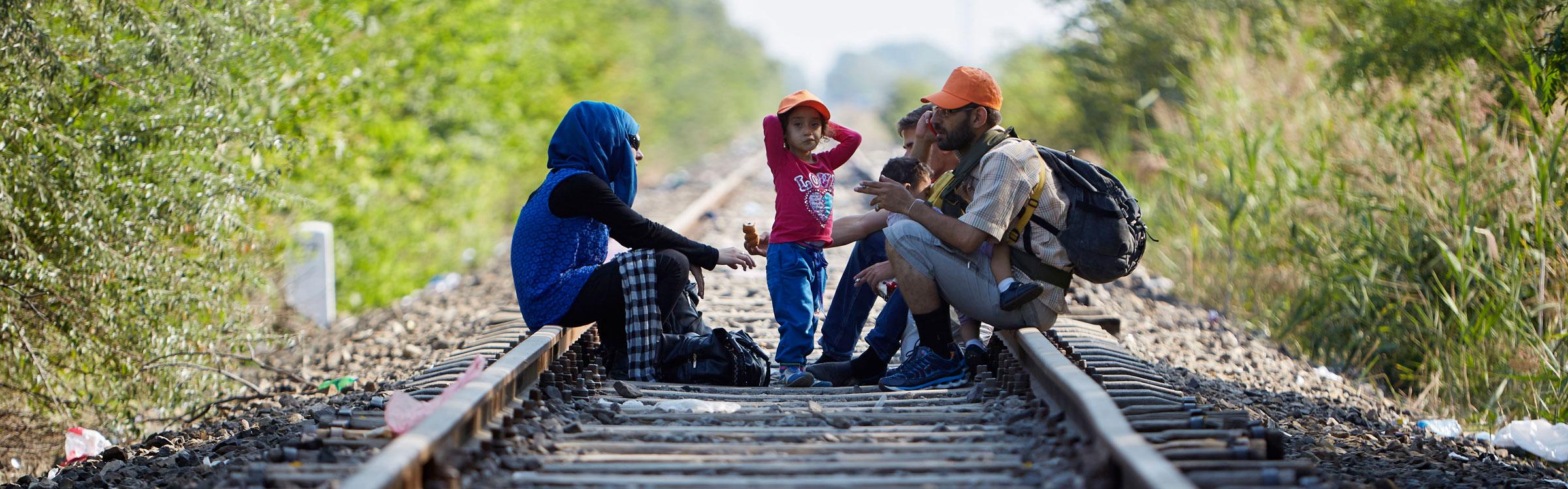 Vluchtelingengesprek 2