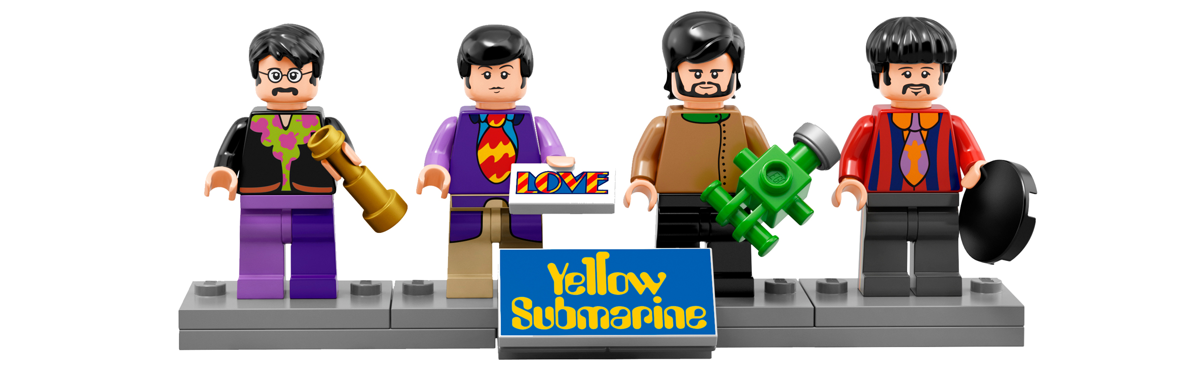 Beatles lego header