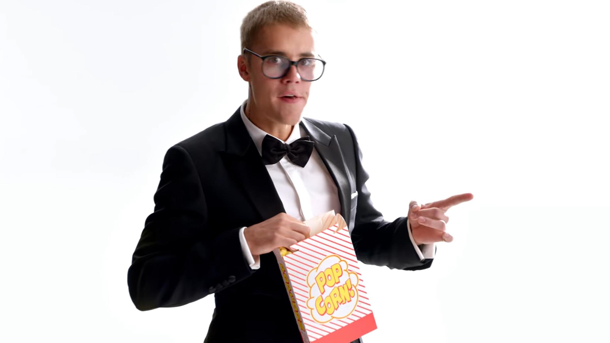 Bieber tmobile teaser