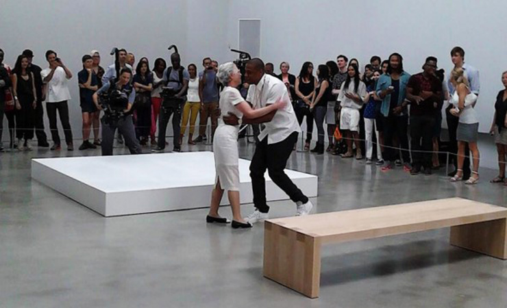 Jay z dances with woman at pace gallery during picasso baby filming july 2013 640x360