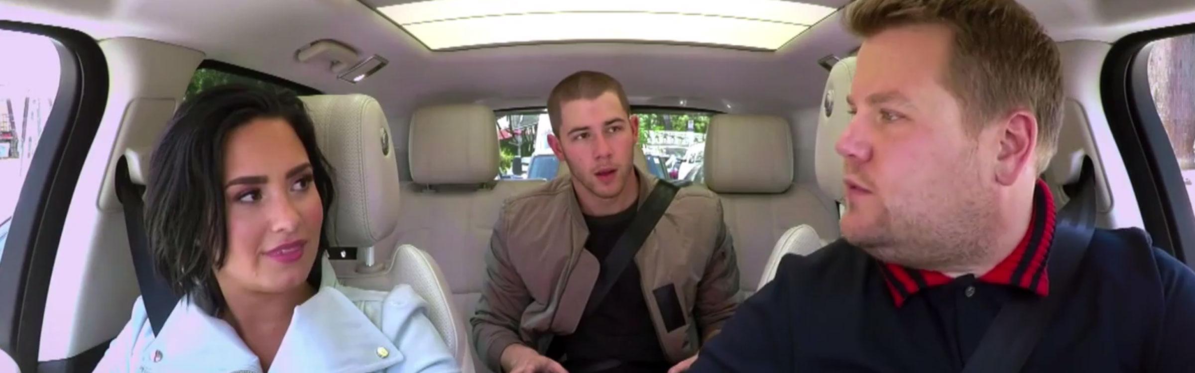 Carpool karaoke demi nick header