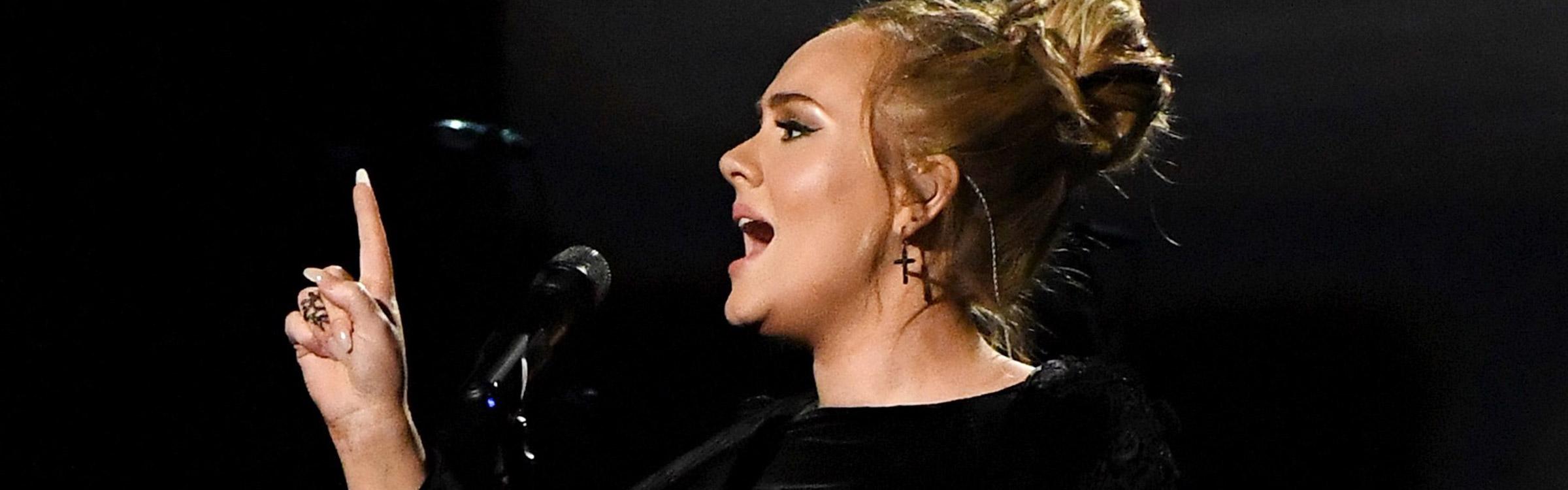 Adele headerafbeelding