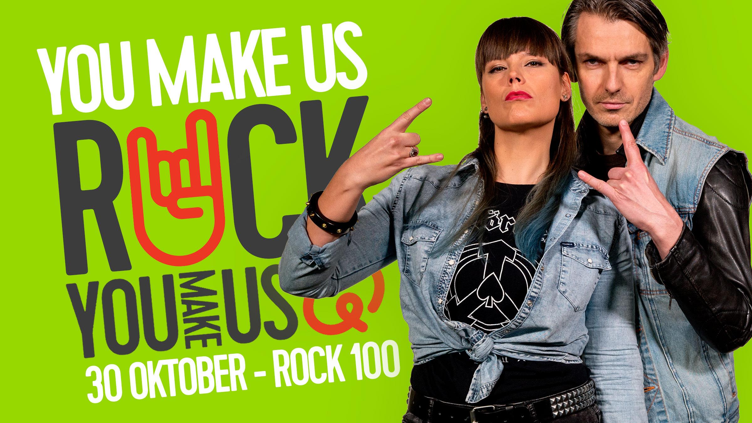 Q 16x9 rock100 youmakeusrock
